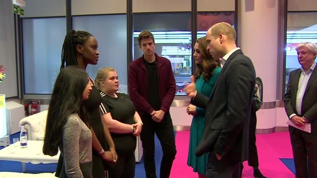 Duke and Duchess of Cambridge visit BBC ENGLAND London BBC Broadcasting House Prince William Duke of Cambridge and Catherine Duchess of Cambridge...