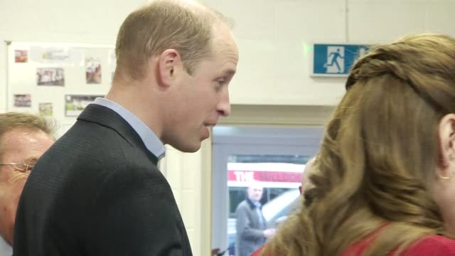 duke and duchess of cambridge visit bulldogs boxing club wales port talbot bulldogs boxing club photography** prince william duke of cambridge and... - logo stock videos & royalty-free footage