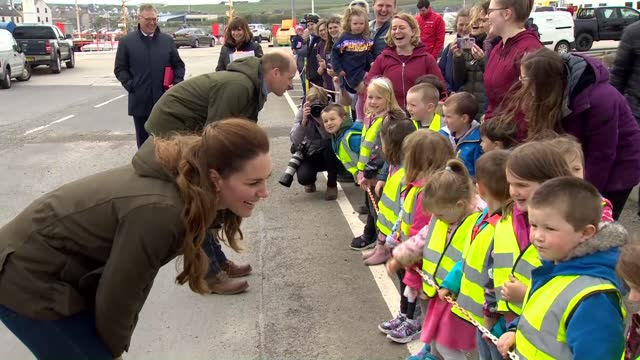duke and duchess of cambridge visit european marine energy centre on orkney; scotland: orkney: european marine energy centre: ext gvs orbital marine... - jetty stock videos & royalty-free footage