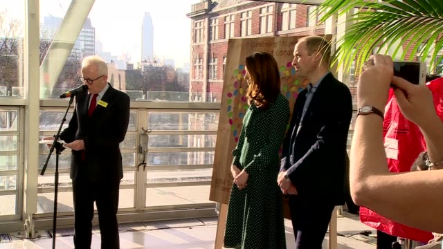 Duke and Duchess of Cambridge visit Evelina Children's Hospital in London ENGLAND London Evelina London Children's Hospital INT Sir Hugh Taylor...