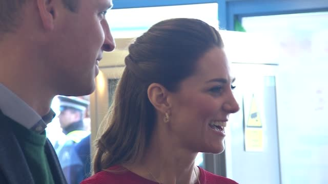 duke and duchess of cambridge visit ice cream parlour in swansea wales swansea int prince william duke of cambridge and catherine duchess of... - living room stock videos & royalty-free footage