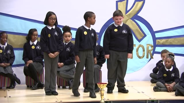 Duke and Duchess of Cambridge visit Mitchell Brook Primary School in Neasden Duke and Duchess of Cambridge visit Mitchell Brook Primary School in...