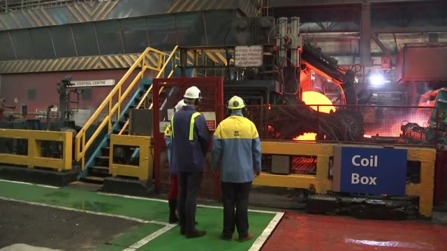 duke and duchess of cambridge visit tata steel plant in south wales wales port talbot tata steel int various of prince william duke of cambridge and... - striped stock videos & royalty-free footage