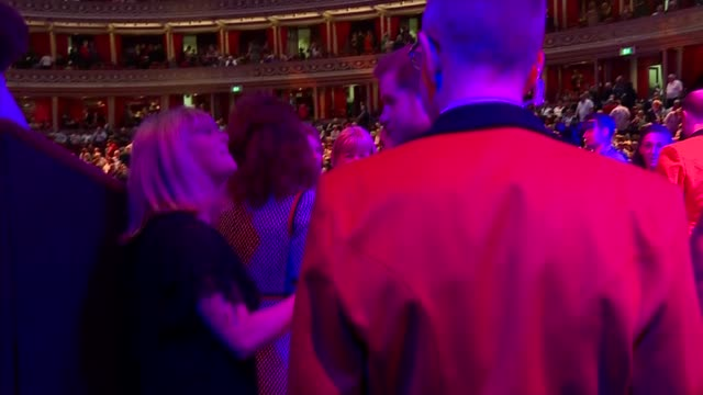 duke and duchess of sussex attend mountbatten festival of music england london royal albert hall photography*** prince harry duke of sussex and... - auditorium stock videos & royalty-free footage