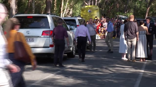 duke and duchess of sussex australia tour fraser island visit australia queensland fraser island prince harry duke of sussex and meghan duchess of... - harry meghan tour stock videos and b-roll footage