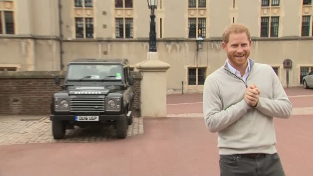 Duke and Duchess of Sussex have a baby son ENGLAND Berkshire Windsor Windsor Castle EXT Prince Harry Duke of Sussex along Prince Harry Duke of Sussex...