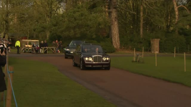 duke and duchess of sussex: royal family to meet to discuss their desire to step back from their royal roles; england: norfolk: sandringham estate:... - itv stock videos & royalty-free footage