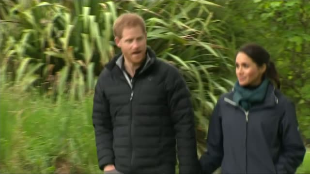 Duke and Duchess of Sussex speak about their 'little bump' NEW ZEALAND Wellington Abel Tasman National Park EXT Prince Harry Duke of Sussex and...