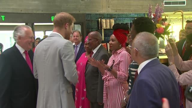 Duke and Duchess of Sussex visit 'Nelson Mandela The Centenary Exhibition 2018' at Southbank Centre ENGLAND London Southbank Centre INT Prince Harry...