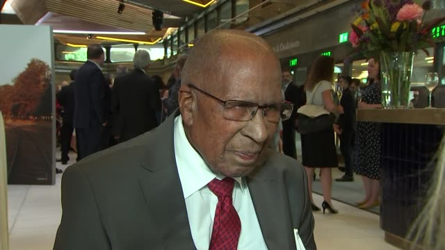Duke and Duchess of Sussex visit 'Nelson Mandela The Centenary Exhibition 2018' at Southbank Centre Andrew Mlangeni interview at Nelson Mandela...