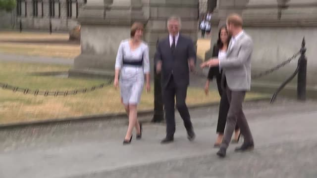 Duke and Duchess of Sussex visit to Ireland couple visit Trinity College Dublin REPUBLIC OF IRELAND Dublin Trinity College PHOTOGRAPHY*** Prince...