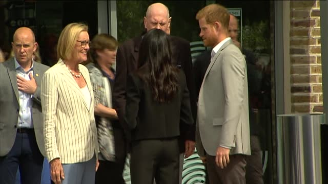 Duke and Duchess of Sussex visit to Ireland visit DogPatch Labs REPUBLIC OF IRELAND Dublin Dogpatch Labs PHOTOGRAPHY*** Prince Harry Duke of Sussex...