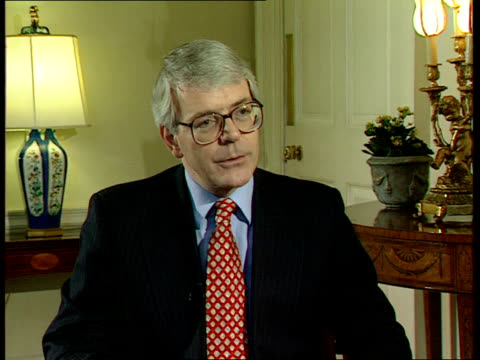duke and duchess of york divorce london downing street owen and john major cms john major mp interview sot any divorce is sad affair / everyone will... - hobbies stock videos & royalty-free footage