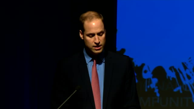duke & duchess of cambridge three day visit: william meets obama / makes speech; prince william speech sot unchecked, it can be a factor in the... - human face video stock e b–roll