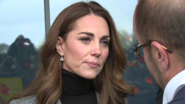 duke of cambridge duchess of cambridge at basildon sporting village on october 30 2018 in london england - duchess of cambridge stock videos & royalty-free footage