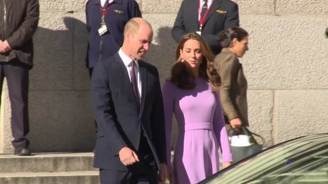 Duke of Cambridge Duchess of Cambridge at London County Hall on October 09 2018 in London England
