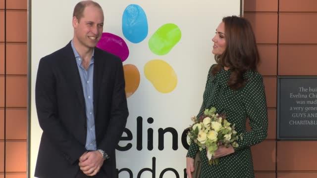 duke of cambridge duchess of cambridge at on december 11 2018 in london england - herzogin stock-videos und b-roll-filmmaterial