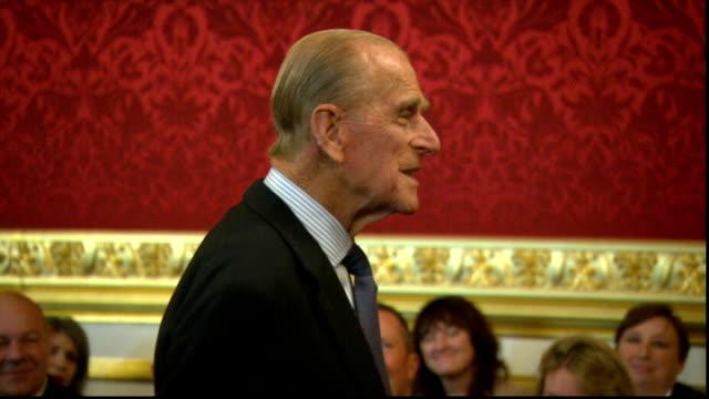 Duke of Edinburgh attends 500th Duke of Edinburgh's Gold Award Presentation ENGLAND London St James's Palace PHOTOGRAPHY** Prince Philip Duke of...