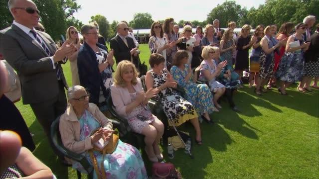 Duke of Edinburgh hosts reception for the Duke of Edinburgh Awards Prince Philip chatting with people / Sophie chatting with people / Prince Edward...