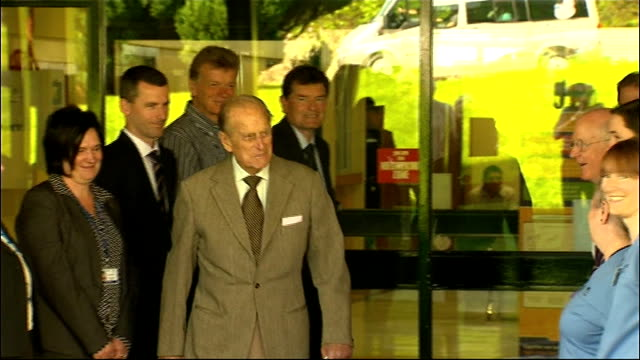 duke of edinburgh leaves hospital following bladder infection scotland aberdeen aberdeen royal infirmary photography*** prince philip out of hospital... - bladder stock videos & royalty-free footage