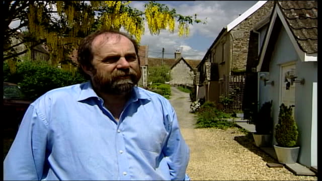 duke of somerset threatens to cut off water to witham friary village; england: somerset: witham friary: ext general views of picturesque english... - farm to table stock videos & royalty-free footage