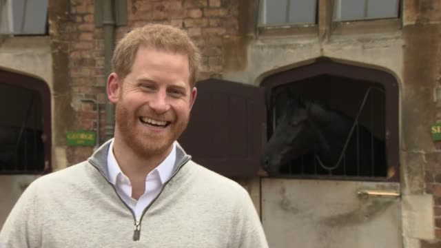 duke of sussex announces birth of his and meghan's baby boy master archie harrison mountbattenwindsor to press i haven't been at many births this was... - parent stock videos & royalty-free footage