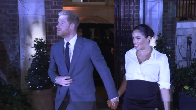 duke of sussex duchess of sussex at drapers' hall on february 07 2019 in london england - meghan duchess of sussex stock videos & royalty-free footage