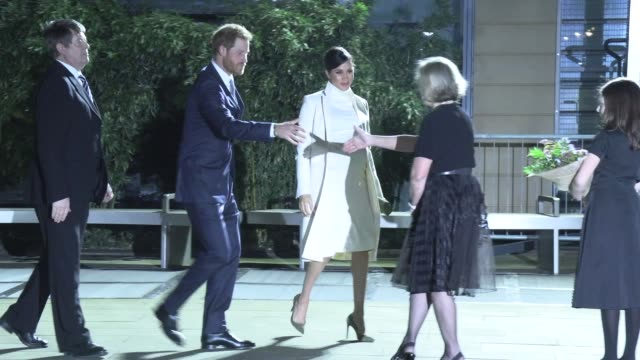 duke of sussex, duchess of sussex at natural history museum on february 12, 2019 in london, england. - gala stock videos & royalty-free footage