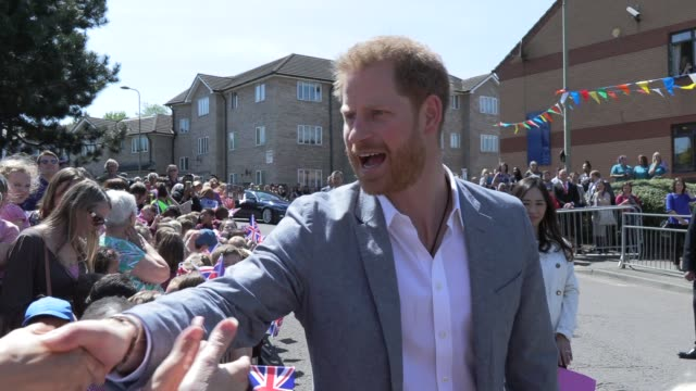 vídeos y material grabado en eventos de stock de duke of sussex on may 14, 2019 in oxford, england. - oxford oxfordshire