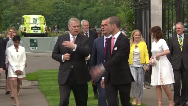 Duke of York denies rift with Prince of Wales 2352016 / R23051617 London Chelsea Flowe Show EXT Prince Andrew arrival at Chelsea Flower Show with...