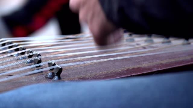 vidéos et rushes de dulcimer - musicien