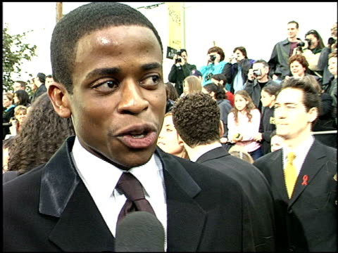 Dule Hill at the 2001 Screen Actors Guild SAG Awards arrivals at the Shrine Auditorium in Los Angeles California on March 11 2001