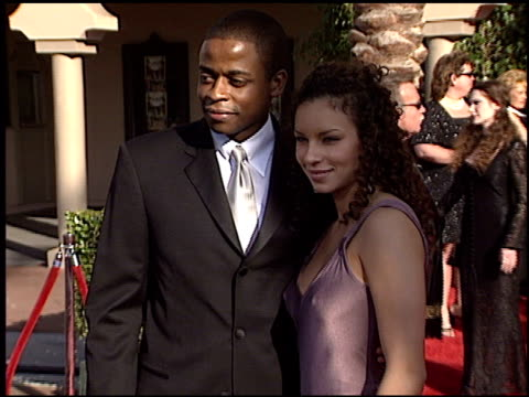 Dule Hill at the 2003 Screen Actors Guild SAG Awards at the Shrine Auditorium in Los Angeles California on March 9 2003