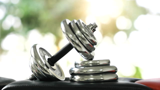 Dumbbell, weight training equipment