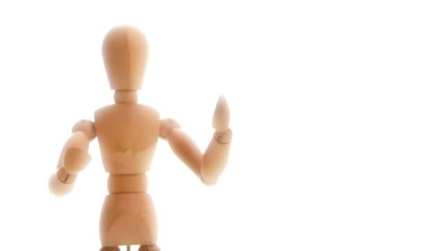 dummy presentation.. - mannequin stock videos & royalty-free footage