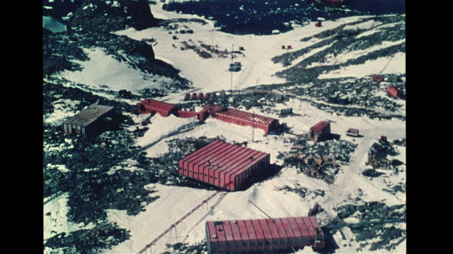 Dumont d'Urville research station on Geologie Archipelago north of Cape Geodesie Astrolabe Glacier Tongue French claimed territory Adelie Land Note...