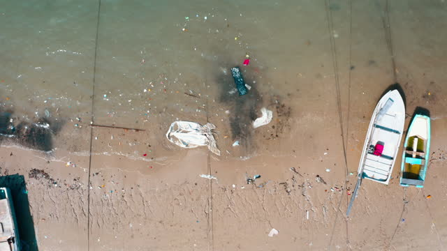 dump in beach. peng chau island, hong kong - pacific islands stock videos & royalty-free footage