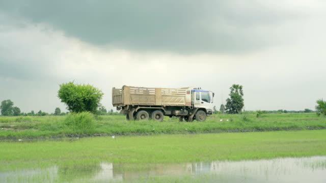 dump truck - dump truck stock videos and b-roll footage