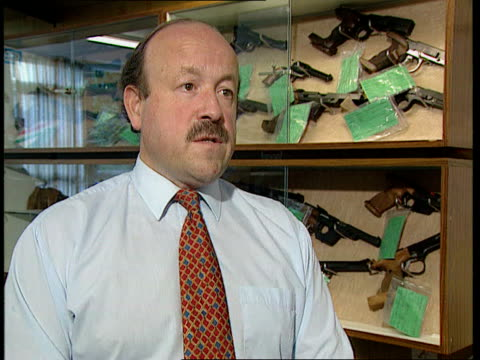 cullen report released; england: london: itn: int cms mary pugsley intvwd sot - most gun clubs are in isolated spots and will be unhappy if they are... - dunblane stock videos & royalty-free footage