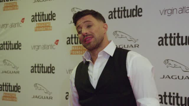 duncan james attends the virgin atlantic attitude awards 2021 at the roundhouse on october 06, 2021 in london, england. - attitude stock videos & royalty-free footage
