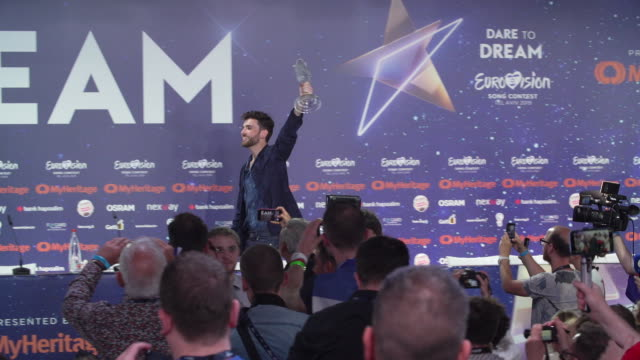 ISR: Eurovision Winner's Press Conference