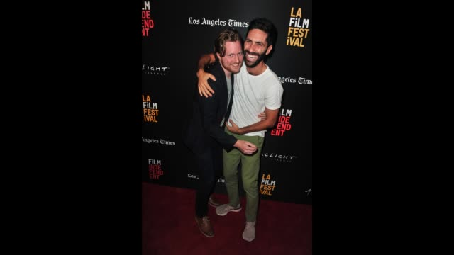 Duncan Skiles and Nev Schulman attend the screening of 'The Clovehitch Killer' during the 2018 LA Film Festival at ArcLight Culver City on September...