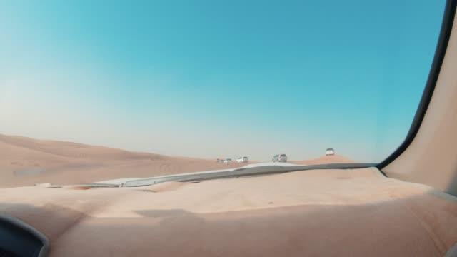 dune bashing in the desert - hitting stock videos & royalty-free footage