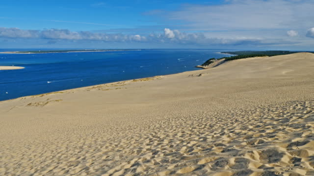dune du pilat, gironde,nouvelle aquitaine, france - arcachon stock videos and b-roll footage