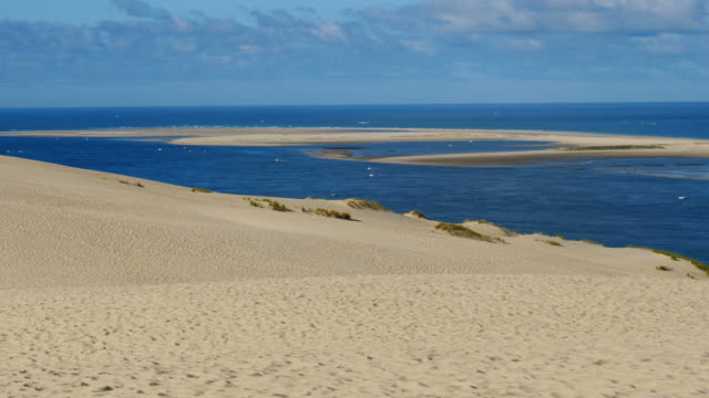 dune du pilat, gironde,nouvelle aquitaine, france - dune of pilat stock videos and b-roll footage