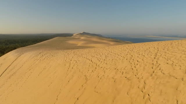 dune du pilat - dune of pilat stock videos and b-roll footage