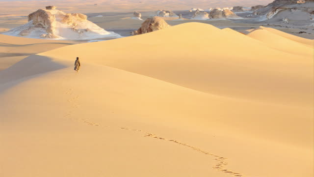 dune in the sahara - egypt stock videos & royalty-free footage