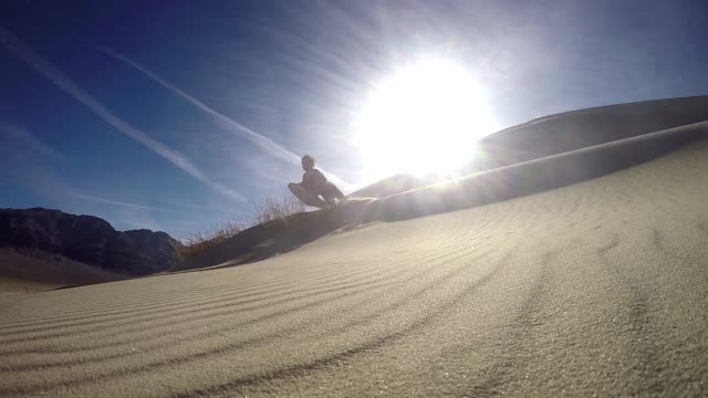 dune jump - jump shot stock videos and b-roll footage