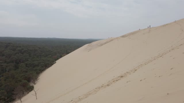 dune of pilat, france - dune of pilat stock videos and b-roll footage