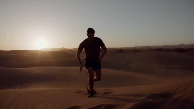 dune running - sand dune stock videos & royalty-free footage